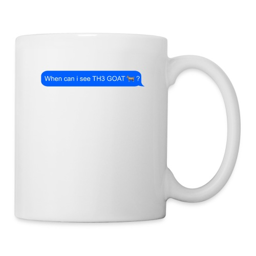 when can i see th3 goat - Coffee/Tea Mug