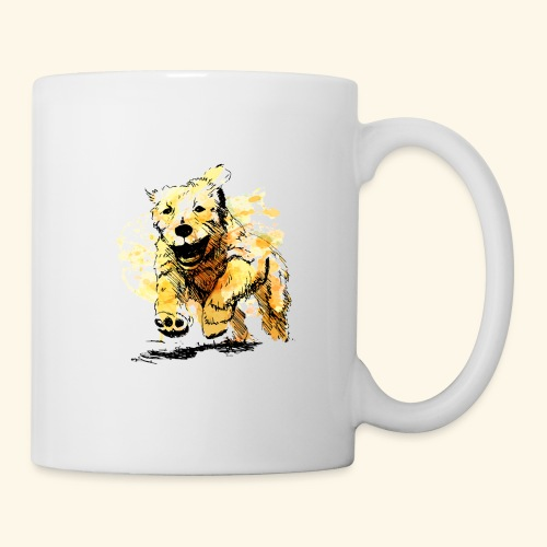 oil dog - Coffee/Tea Mug