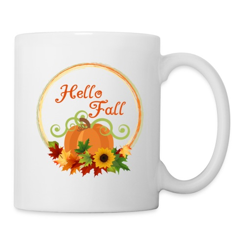 hello fall - Coffee/Tea Mug
