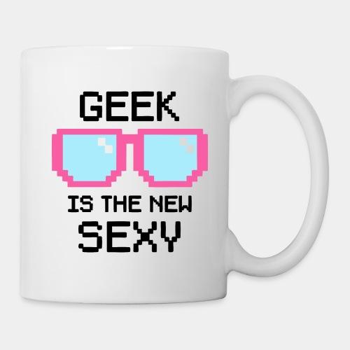 geek school nerd - Coffee/Tea Mug