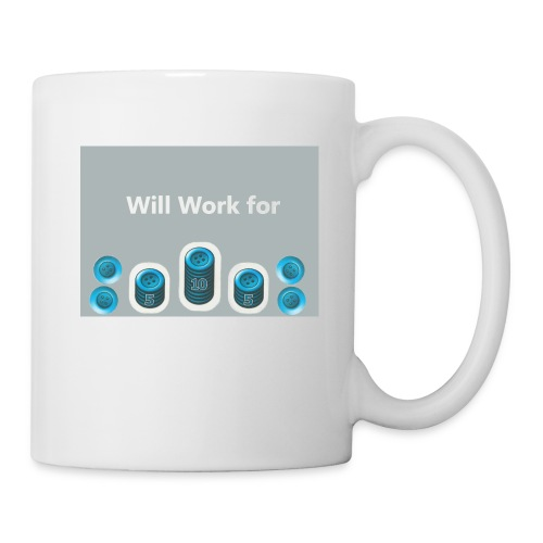 Will_work_for_buttons - Coffee/Tea Mug