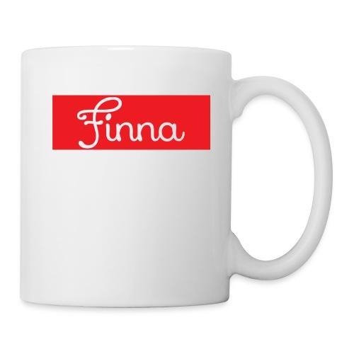 Red Finna logo - Coffee/Tea Mug