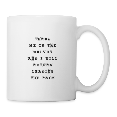 LEAD THE PACK - Coffee/Tea Mug