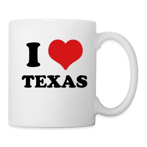 I Love Texas - Coffee/Tea Mug