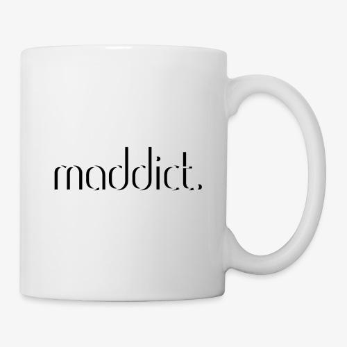 maddict basic white logo - Coffee/Tea Mug