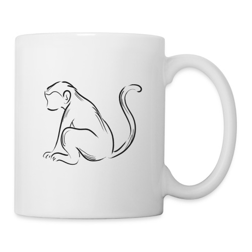 Alturas Wildlife Sanctuary Monkey - Coffee/Tea Mug