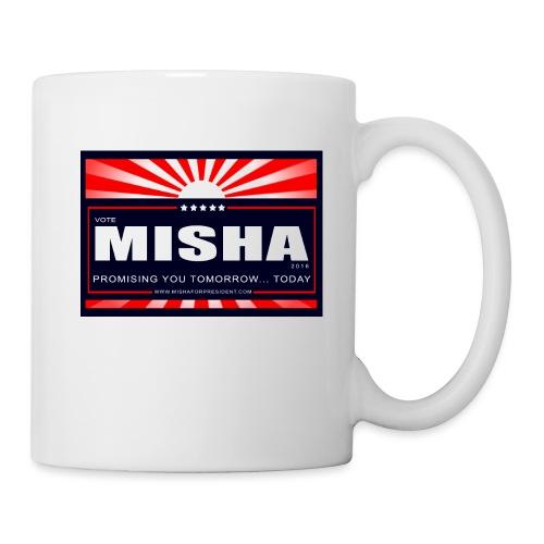 Vote 4 Misha Poster - Coffee/Tea Mug