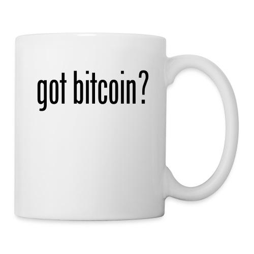 got bitcoin? (black) - Coffee/Tea Mug