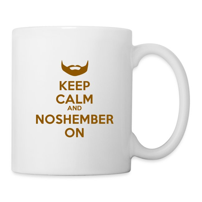 Keep Calm and Noshember On