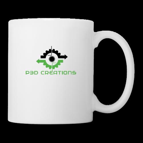 P3D Creations Logo - Coffee/Tea Mug