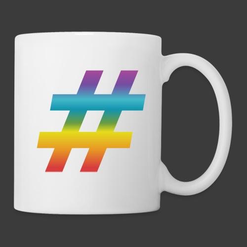 Rainbow Include Hash - Coffee/Tea Mug