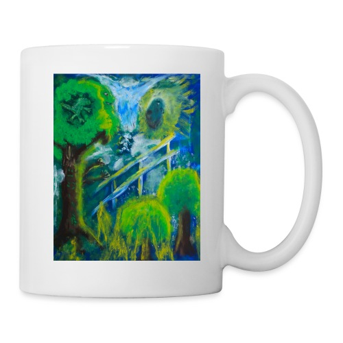 Friends in the Forest Painting by Jason Gallant - Coffee/Tea Mug