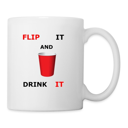 Flip It And Drink It - Coffee/Tea Mug