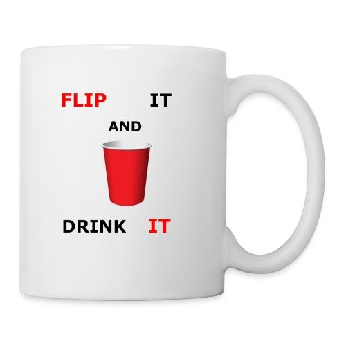 Flip It And Drink It - Coffee/Tea Mug