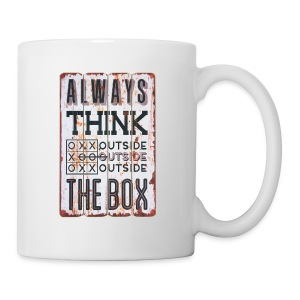 Always think outside the box - Coffee/Tea Mug