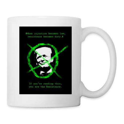 Anti Donald Trump Resistance Election 2016 T-shirt - Coffee/Tea Mug