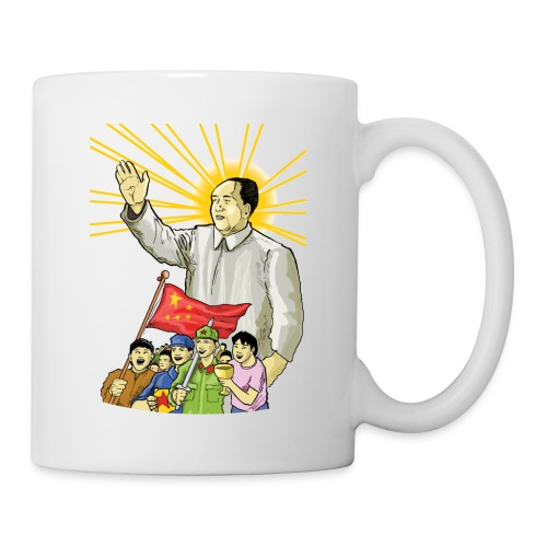 Mao Waves to the People - Coffee/Tea Mug