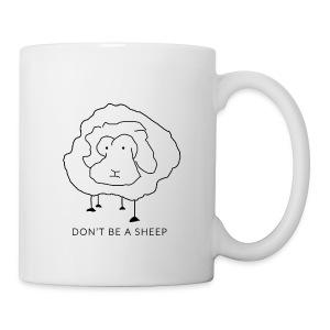 Don't be a sheep - Coffee/Tea Mug