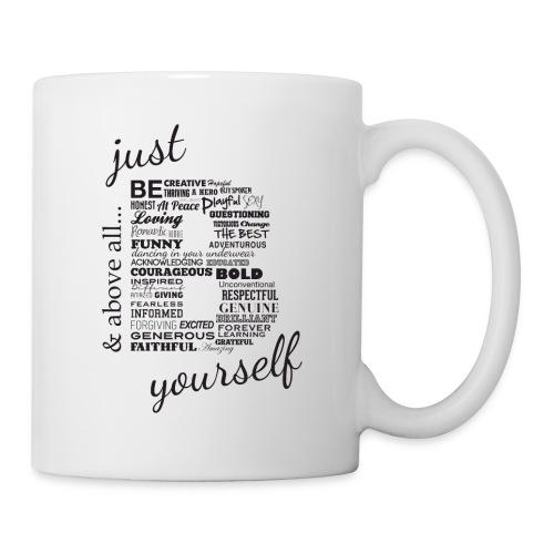 Just B Yourself_blk.txt - Coffee/Tea Mug