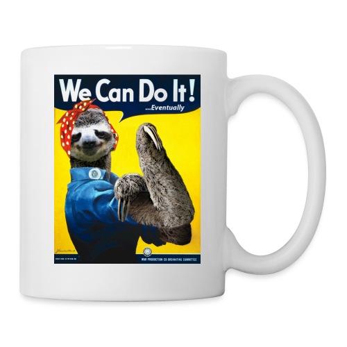 We Can Do It (...Eventually) Sloth - Coffee/Tea Mug
