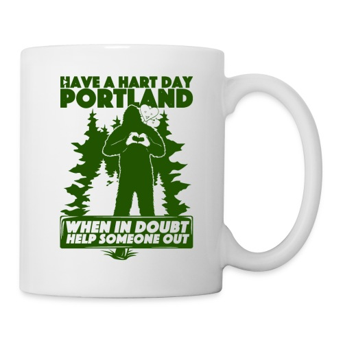 Have A Hart Day Portland - Button Pack - Coffee/Tea Mug