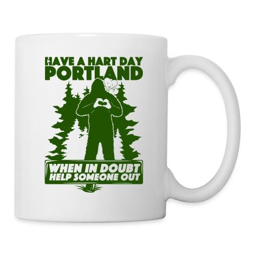 Have A Hart Day Portland - Button Pack - Coffee/Tea Mug