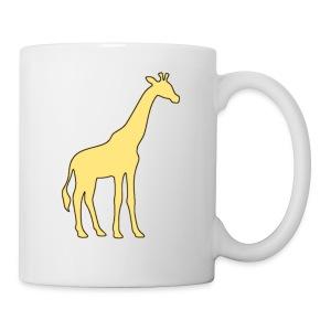 yellow giraffe - Coffee/Tea Mug
