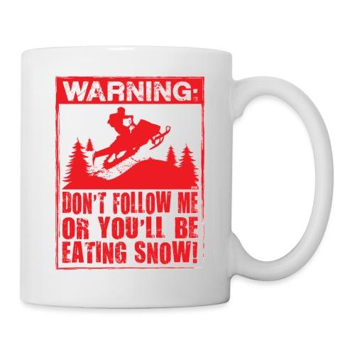 Snowmobile Warning - Coffee/Tea Mug
