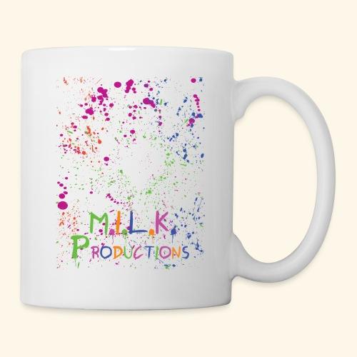 M.I.L.K. Color Splatter T-Shirt - Coffee/Tea Mug