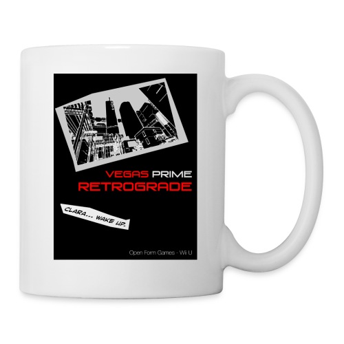 Vegas Prime Retrograde - Clara Wake Up - Black - Coffee/Tea Mug