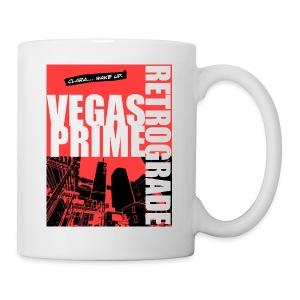 Vegas Prime Retrograde - Clara Wake Up - Red - Coffee/Tea Mug