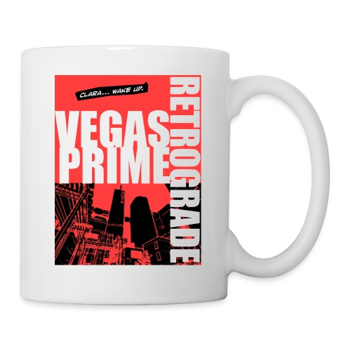 Vegas Prime Retrograde - Clara Wake Up - Red - Coffee/Tea Mug