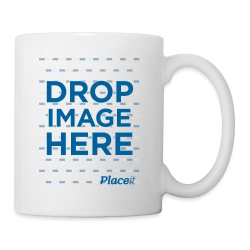 DROP IMAGE HERE - Placeit Design - Coffee/Tea Mug