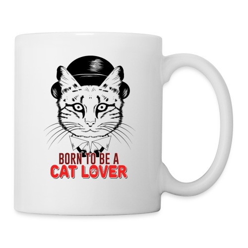 Born to be a cat lover - Coffee/Tea Mug