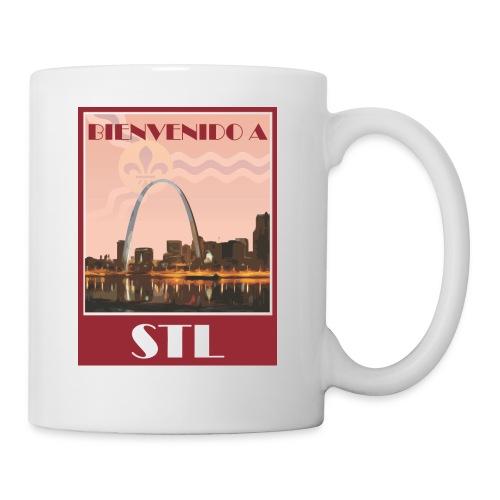 Bienvenido STL Skyline - Coffee/Tea Mug