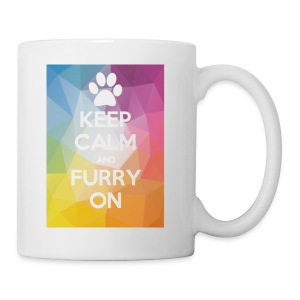 Keep Calm And Furry On Merch By ZOOM - Coffee/Tea Mug