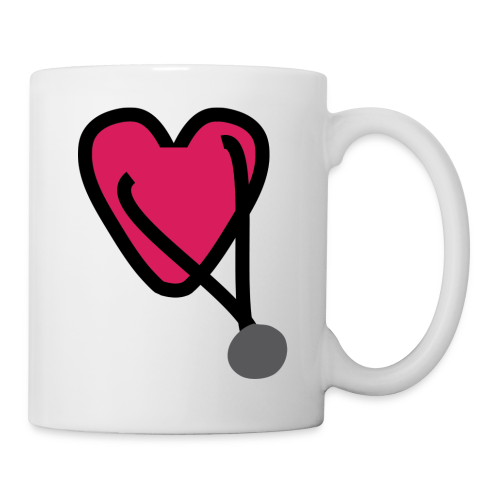 Heart Stethoscope - Coffee/Tea Mug