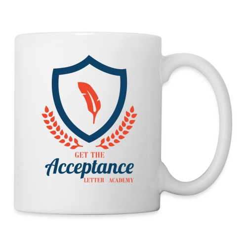 Get The Acceptance Letter Academy Logo - Coffee/Tea Mug