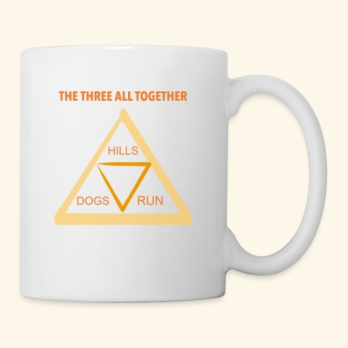 Run4Dogs Triangle - Coffee/Tea Mug