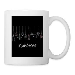 Crystal addict logo - Coffee/Tea Mug