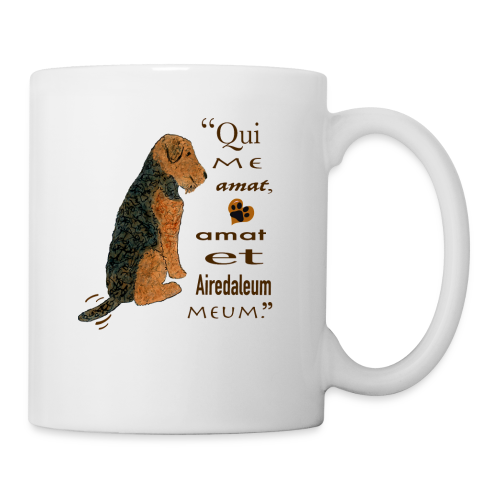 Love Me, Love My Airedale - Coffee/Tea Mug