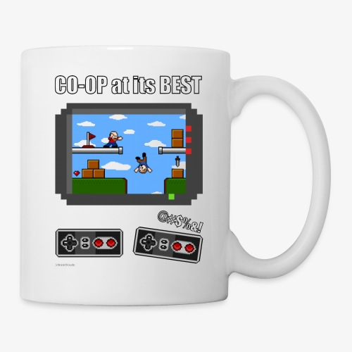 Pixel Art: CO-OP at its BEST - Coffee/Tea Mug
