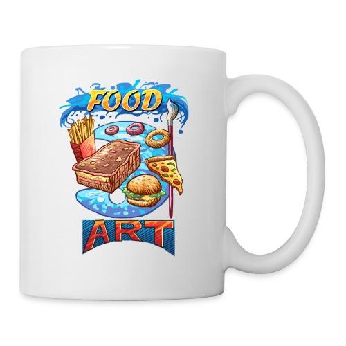 Food Art - Computer Resolution - Coffee/Tea Mug