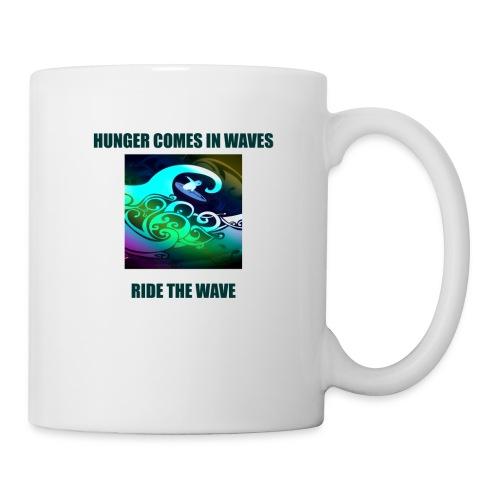 Hunger Comes In Waves - Coffee/Tea Mug