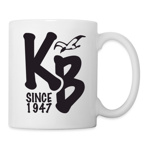 Kure Beach Day-Black Lettering-Front and Back - Coffee/Tea Mug