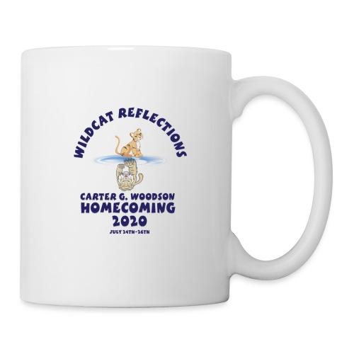 Carter G Woodson Homecoming Logo Blue - Coffee/Tea Mug