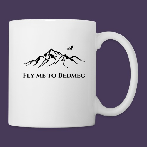 Fly Me To Bedmeg (black) - Coffee/Tea Mug