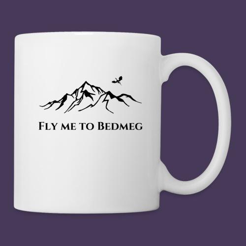 Fly Me To Bedmeg (black) - Coffee/Tea Mug