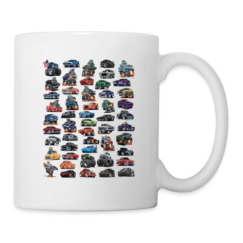 Muscle Cars, Hot Rods, Trucks and a Chopper - Coffee/Tea Mug