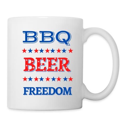 BBQ BEER FREEDOM - Coffee/Tea Mug